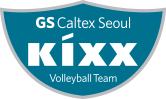GS caltex seoul Kixx volleyballteam